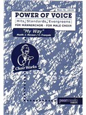 Power Of Voice - My Way (Für Männerchor TTBB)