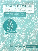 Power Of Voice - Knock, Knock, Who's There (Für Gemischtchor SATB)