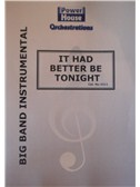 Henry Mancini: It Had Better Be Tonight (Arr. Cy Payne). Big Band & Concert Band Sheet Music