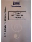 Henry Mancini: It Had Better Be Tonight (Arr. Cy Payne). Big Band & Concert Band Sheet Music