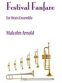 Festival Fanfare For Brass Ensemble