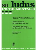 Georg Philipp Telemann: Trio Sonata in C minor for Oboe, Viola and Continuo