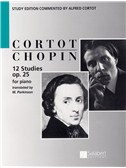 Frederic Chopin: 12 Studies Op.25 (ed. Cortot)