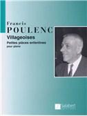 Francis Poulenc: Villageoises - Petite Pieces Enfantines (Piano)