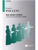 Francis Poulenc: Ave Verum Corpus (SMA)