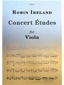 Robin Ireland: Concert Études For Viola