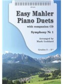 Arr. Mark Goddard: Easy Mahler Piano Duets (Book/CD)