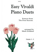 Easy Vivaldi Piano Duets: Four Seasons Extracts