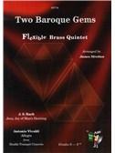 Two Baroque Gems - Flexible Brass Quintet