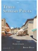 Bryan Kelly: Three Spanish Pieces