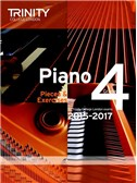 Trinity College London: Piano Exam Pieces & Exercises 2015-2017 - Grade 4 (Book Only)