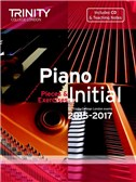 Trinity College London: Piano Exam Pieces and Exercises 2015-2017 - Initial (Book/CD)