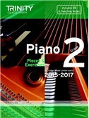Trinity College London: Piano Exam Pieces & Exercises 2015-2017 - Grade 2 (Book/CD)