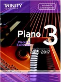 Trinity College London: Piano Exam Pieces & Exercises 2015-2017 - Grade 3 (Book/CD)