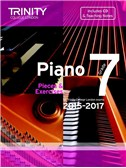 Trinity College London: Piano Exam Pieces & Exercises 2015-2017 - Grade 7 (Book/CD)