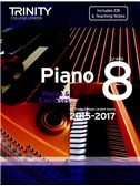 Trinity College London: Piano Exam Pieces & Exercises 2015-2017 - Grade 8 (Book/CD)