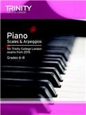 Trinity College London: Piano Scales & Arpeggios From 2015 - Grades 6-8