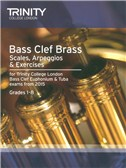 Trinity College London: Bass Clef Scales, Arpeggios and Exercises From 2015 - Grades 1 - 8