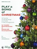 Play A Song Of Christmas - Variable Mixed Ensemble Or Solo With Accompaniment (Oboe)