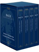 J.S. Bach: The Complete Piano Works in Four Volumes (Study Score Box Set)