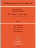W.A. Mozart: Piano Concerto No.25 In C K.503 (Study Score)