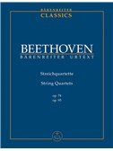 Ludwig Van Beethoven: String Quartets Op.78/Op.95 (Study Score). Sheet Music