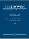 Ludwig Van Beethoven: Piano Concerto No.2 In B-Flat Op.19 (Study Score)