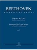 Ludwig Van Beethoven: Piano Concerto No.3 In C Minor Op.37 (Study Score)