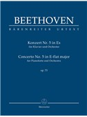 Ludwig Van Beethoven: Piano Concerto No.5 In E-Flat Op.73 (Study Score)