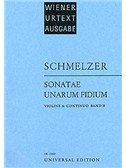 Johann Heinrich Schmelzer: Sonatae Unarum Fidium Book Two