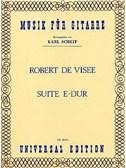 Visée, Robert de : Livres de partitions de musique