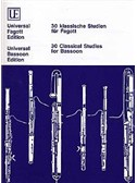 30 Classical Studies For Bassoon