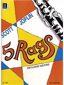 Scott Joplin: 5 Rags (Clarinet/Piano)