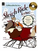 Mike Cornick: Sleigh Ride For Two - Piano Duet (Book and CD)
