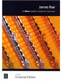 James Rae: 42 More Modern Studies For Solo Flute