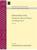 Fernando Sor: Variations On A Theme By Mozart (New Karl Scheit Guitar Edition)