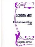 Arnold Schoenberg: Six Little Piano Pieces Op.19