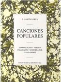 FederIco Garcia Lorca: Canciones Populares