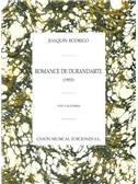 Joaqu�n Rodrigo: Romance De Durandarte. Voice Sheet Music