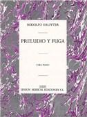 Halffter, R Preludio Y Fuga Piano
