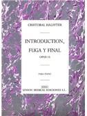Cristobal Halffter: Introduccion Fuga Y Final Op.15