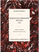 Rodrigo: Romance Del Comendador De Ocana Para Voz Y Piano