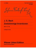 Johann Sebastian Bach: Two-Part Inventions BWV 772-786