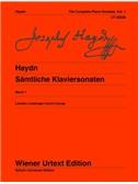 """Joseph Haydn: Complete Piano Sonatas Vol. 1 (Inc.""""Bolzano Sonata"""" Vol. 1)"""