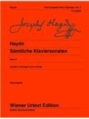 Joseph Haydn: Complete Piano Sonatas - Vol. 2. Sheet Music
