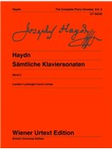 Joseph Haydn: The Complete Piano Sonatas Vol. 3. Sheet Music