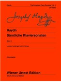 Joseph Haydn: Complete Piano Sonatas Vol. 4. Sheet Music