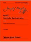 Joseph Haydn: Complete Piano Sonatas Vol. 4. Sheet Music