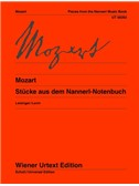 Wolfgang Amadeus Mozart: Pieces From The Nannerl Music Book