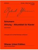 Robert Schumann: Ahnung - Albumblatt. Piano Sheet Music
